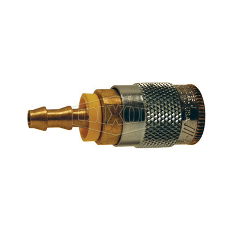 J series automotive pneumatic push loc hose barb coupler